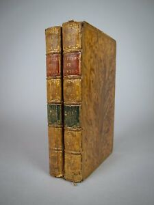 1792 Letters of Junius. First Edition. Tree Calf Binding. 2 Vol.