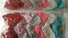 Joblot 12pcs Large Bow Design Sparkly hairclips hairgrips NEW wholesale Lot 4