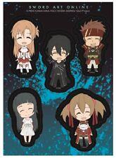 **License** Sword Art Online Happy Kirito Asuna Team Members Sticker Set #55504