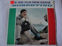 ROBERTINO THE YOUNG ITALIAN SINGING SENSATION VINYL LP ALBUM KAPP RECORDS MONO