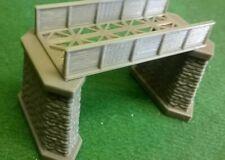 Girder Bridge N Gauge Single Track Model Railway Support Piers Stonework Detail