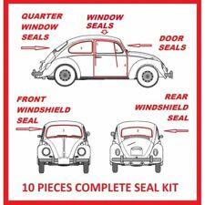 Volkswagen VW BUG Beetle 1965 - 1971 Complete Seal Kit Windows Doors 10 Pieces