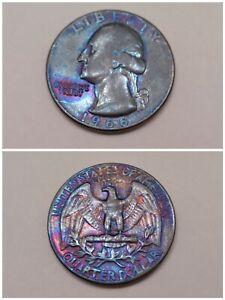 1966 US Washington Quarter Dollar Non Silver Lot Christmas Gift Gold Toned Coin