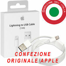 Cavo dati Apple BLISTER ORIGINALE lightning usb IPHONE 5 6 7 8 X iOS11 cavetto