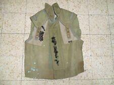 Israeli Army Idf Zahal Flak Vest Protective Jacket 1982 Israel Lebanon War RARE!