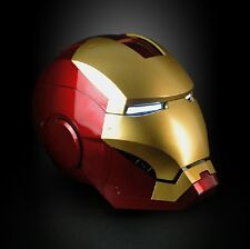 NEW Roan x Lager MK3 Iron man helmet MAGNETIC RING CONTROL ELECTRIC VER LED EYES