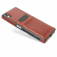 Leather Card Pocket Fitted Cases for Motorola Mobile Phones