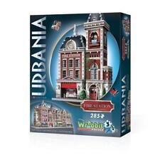 WREBBIT 3D JIGSAW PUZZLE URBANIA COLLECTION - FIRE STATION 285 PCS #W3D-0505