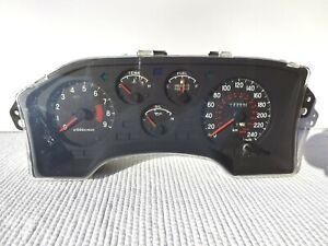 1990-1994 Eclipse Talon Laser RPM Instrument gauge cluster 309966 Kms non Turbo