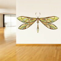 Full Color Wall Decal Sticker Art Paintings Dragonfly (Col353)