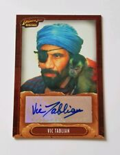 Topps Indiana Jones Heritage Autograph Card Vic Tablian