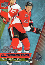 Chris Neil 15/16 UD Full Force IC Encounters insert #IE-CN