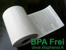 50 EC Cash Thermo Rollen BPA-frei 57mm breit - 12m lang mit SEPA Lastschifttext