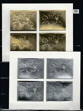 MF GUYANA - MNH - GOLD+SILVER - DINOSAURS - DOGS - CATS - BUTTERFLIES