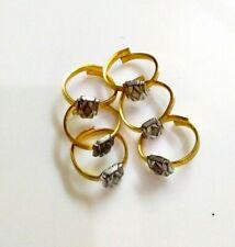 6 Pcs Set Indian Bichiya Adjustable Old Vintage Wedding Toe Rings Bridal Jewelry