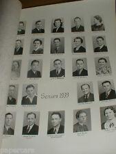 1939 Farina High School IL illinois Fayette County St Elmo Vandalia Ramsey rare