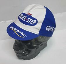 Pro Team QUICK STEP WHITE BACK TRIANGLE Cycling Race Cap