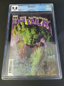 Immortal Hulk #1 1st Printing CGC 9.8 NM / MT Marvel 2018 Hulk 105 Cover Homage