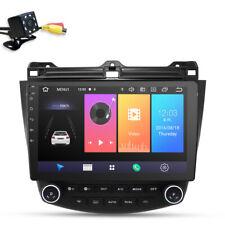 Pantalla táctil 10.1 radio de coche android 10 GPS FM CAM HONDA ACCORD 2003-2007