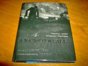 PATRICK NESS-A MONSTER CALLS-SIGNED-1ST-2011-HB-NF/F-WALKER BOOKS-VERY RARE