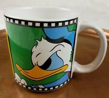Disney Japan Angry Donald Duck Sailor Shirt Filmstrip Coffee Mug Tea Cup 11 oz