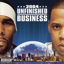 R. Kelly & Jay-Z - Unfinished Business (2004)  CD  NEW  SPEEDYPOST