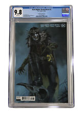 🔥DARK KNIGHTS DEATH METAL #3 CGC 9.8 ROBIN KING FEDERICI COVER WHITE PAGES
