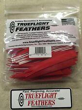 trueflight 12.7Cm PIUME lato sinistro Scudo taglio 100 pz. Rosso