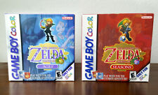 Legend of Zelda: Oracle of Ages and Seasons CIB Complete Bundle (Game Boy Color)