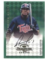 1998 Donruss Signature Millenium Marks Autographs #88 David Ortiz Red Sox AUTO