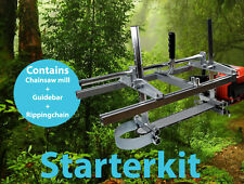 Starterkit 24'' chainsaw mill 50cm guide bar - Stihl 024 MS240 026 MS260 MS261