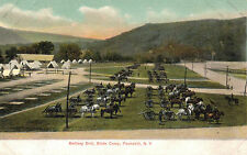 Peekskill,New York,Battery Drill,State Camp,Calvalry,Westchester Co.c,1901-06