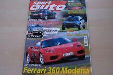 3) Sport Auto 10/1999 - Fiat Seicento Turbo von No - Smart City Coupe von Digi-