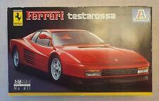 ITALERI FERARRI TESTAROSSA 1/16 SCALE MODEL KIT