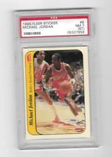 Michael Jordan 1986 Fleer Sticker Card #8 PSA 7 NM Rare Rookie RC MASSIVE BV$$