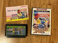 Family Circuit F1 Racing Namco Boxed/Complete JAPAN Ver Famicom FC Nintendo NES