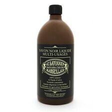 Savon noir multi-usages 1L huile d'olive nettoie, dégraisse & fait briller