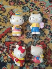 Vintage 1983 Cbs Inc Sanrio Hello Kitty Pvc Figures Lot