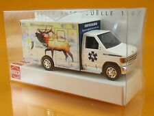 Busch 41845 Ford E 350 Wyoming Medical Center Nr 5 Elk Krankenwagen Scale 1 87