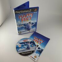 Happy Feet Sony PlayStation 2 PS2 Fully Working + Manual VGC Fast P&P