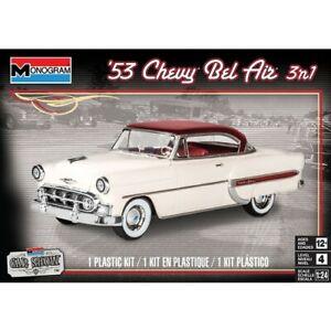 Revell Plastic Model Kit 1953 Chevy Bel Air 3N1 1:24 - 95-85-4431