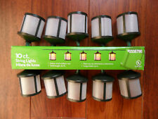 Lantern String Lights Set of 10ct NEW in Box!! #0338790 Party Lights