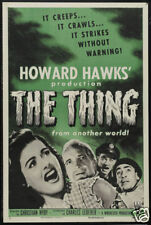 The thing from another world 1951 horror #2 poster print