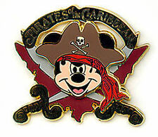 Pirates of the Caribbean (Mickey Mouse Logo) PIN ON PIN