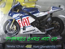 MOTO GP 1/18 YAMAHA YZR-M1 # 46 COLLECTION  ROSSI WORLD CHAMPIONSHIP  2010
