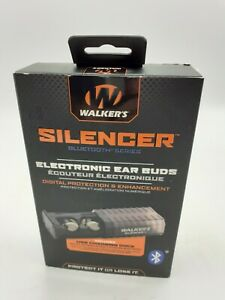 Walkers GWP-SLCR-BT - Silencer Bluetooth Rechargeable In-the-Ear Buds