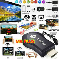 AnyCast M9 Plus WiFi Display Receiver HDMI Dongle TV DLNA Airplay Miracast PY