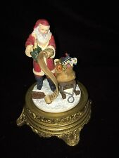 Santa Claus Glass Dome Francis Klein Limited Edition - Franklin Mint