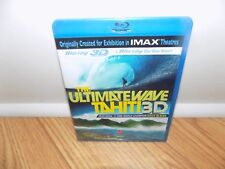 The Ultimate Wave: Tahiti 3D (Blu-ray Disc, 2011) BRAND NEW, SEALED