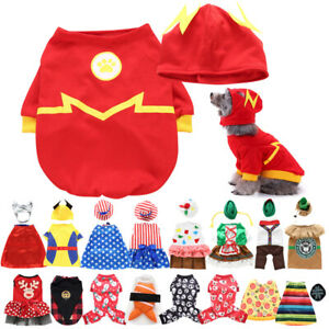 Funny Clothing For Pet Dog Cat Costumes Party Cosplay Fancy Dress Clothes Outfit